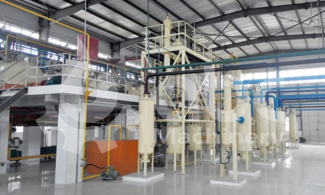 Vegetable Oil Plant - China