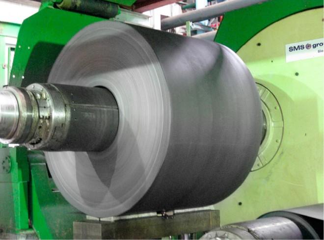 Nhà máy, sản xuất, tôn mạ màu (Germany)